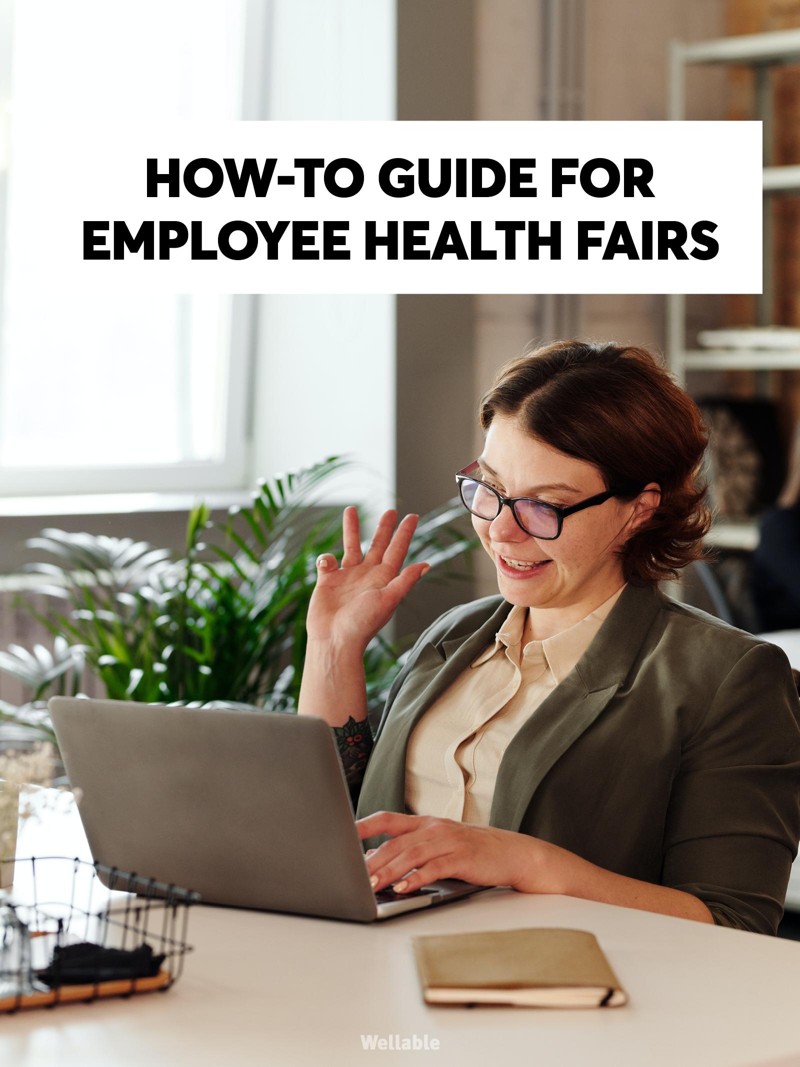 Virtual Health Fair - Cover